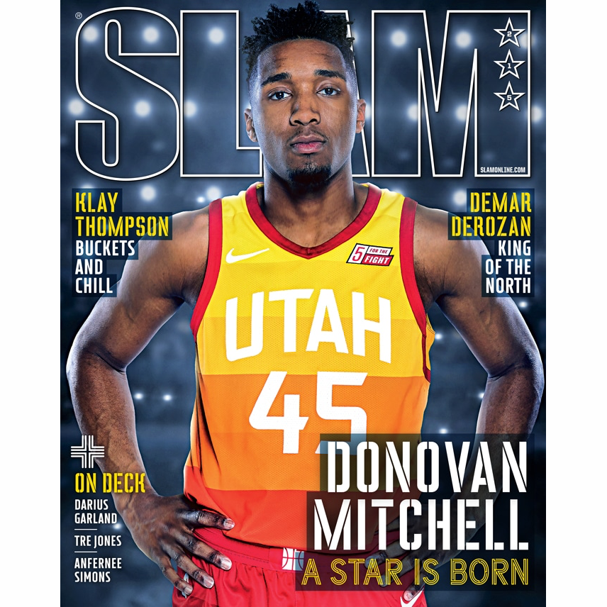 SLAM Magazine - Issue 215 - Donovan Mitchell - Cover 1