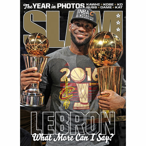 SLAM Magazine - Issue 201 - LeBron James