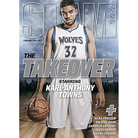 SLAM Magazine - Issue 202 - Karl-Anthony Towns - Cover 1