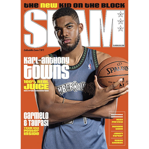 SLAM Magazine - Issue 202 - Karl-Anthony Towns - Cover 2