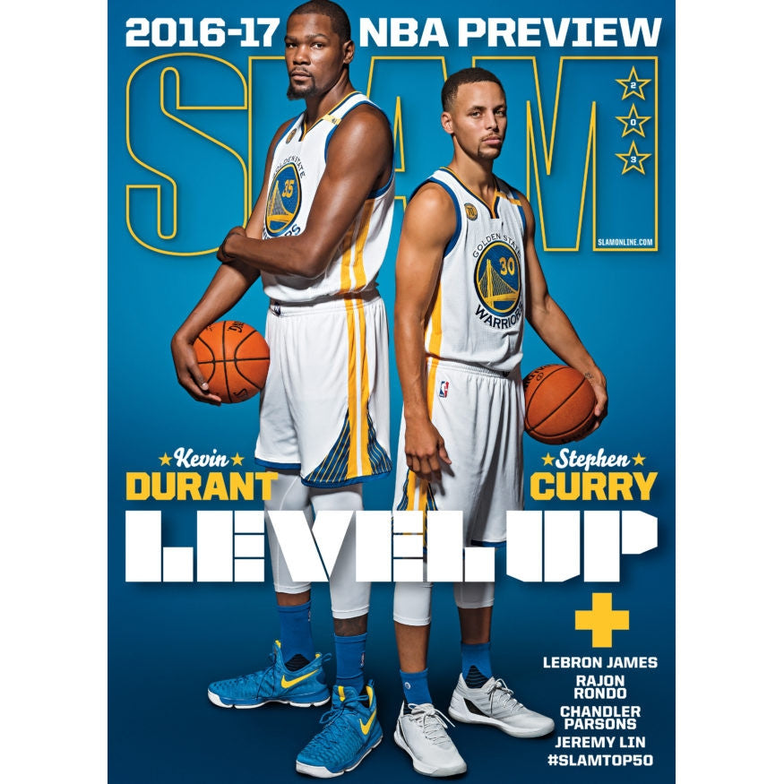 SLAM Magazine - Issue 203 - Kevin Durant & Steph Curry