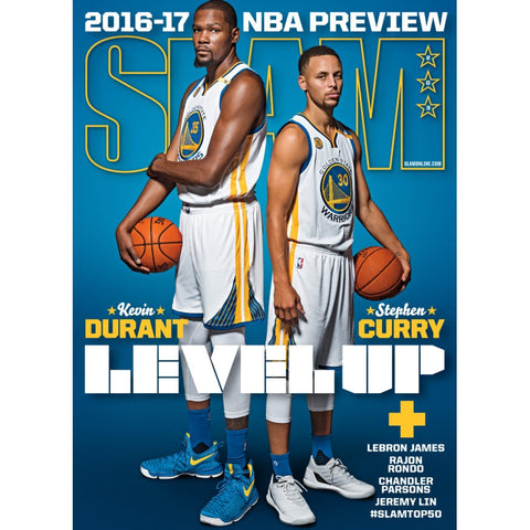 SLAM Magazine - Issue 203 - Durant & Curry