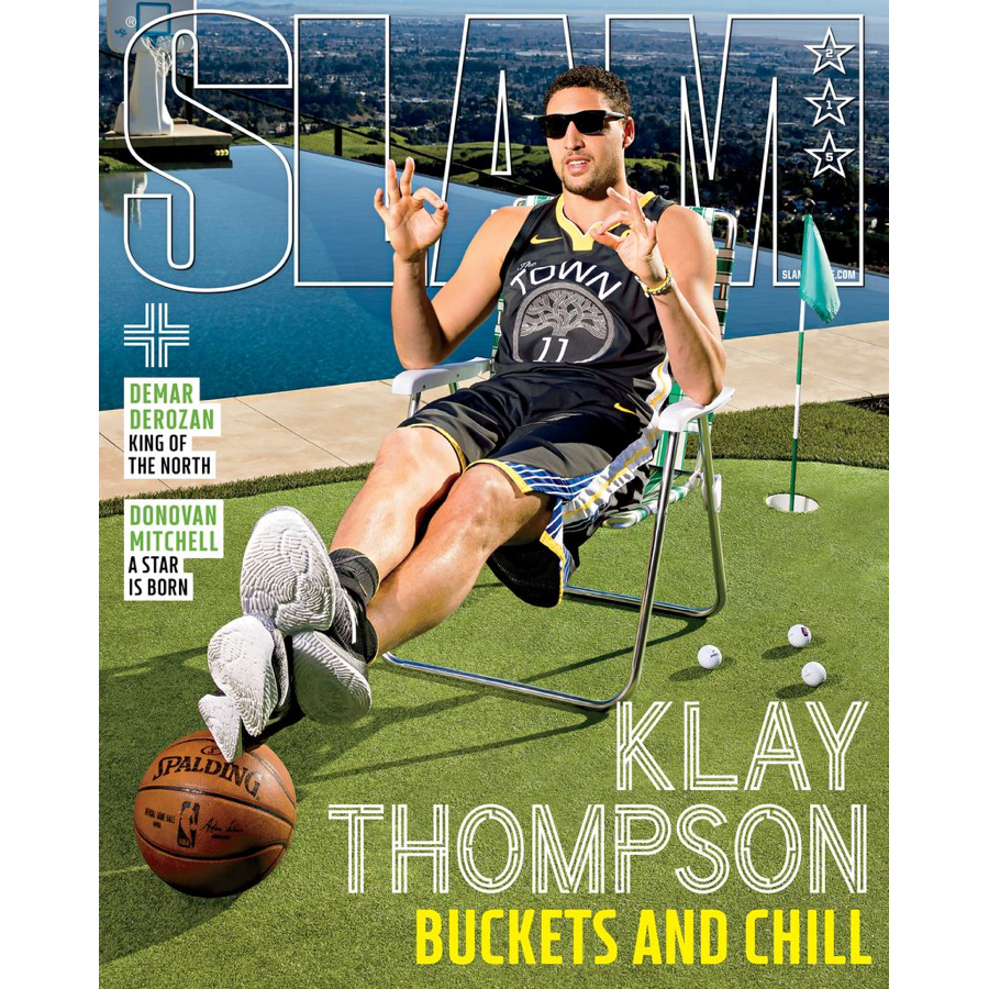SLAM Magazine - Issue 215 - Klay Thompson - Cover 2