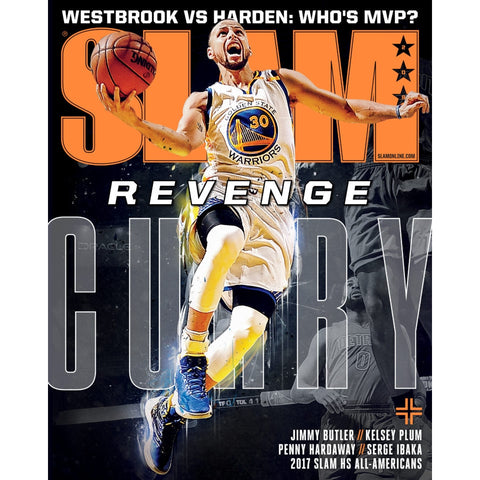 SLAM Magazine - Issue 209 - Curry Cover
