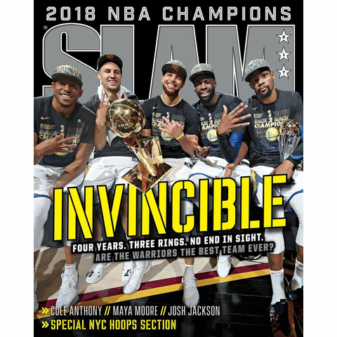 SLAM Magazine - Issue 217 - Golden State Warriors
