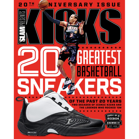 SLAM Presents KICKS 20 - Anniversary Issue - Iverson Cover