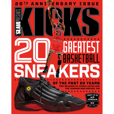SLAM Presents KICKS 20 - Anniversary Issue - Jordan Cover