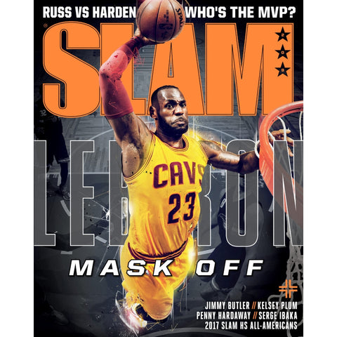 SLAM Magazine - Issue 209 - LeBron Cover