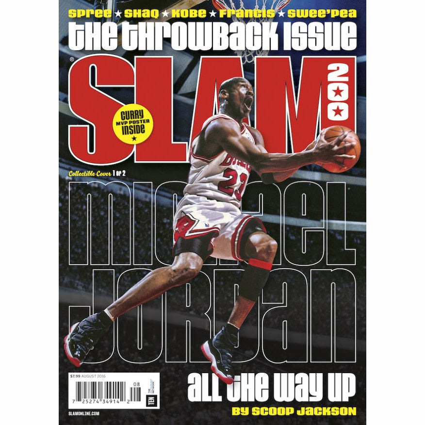 SLAM Magazine - Issue 200 - Jordan Cover