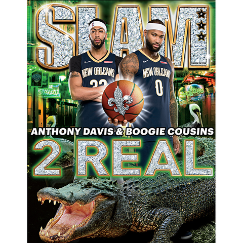 SLAM Magazine - Issue 214 - Anthony Davis & Boogie Cousins - Cover 1