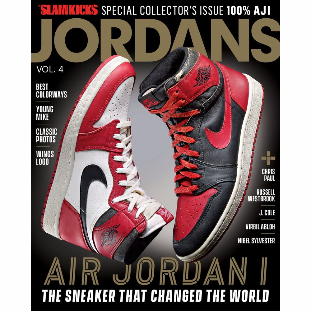 SLAM Presents KICKS - Jordans Vol. 4 - Special Collectors Issue