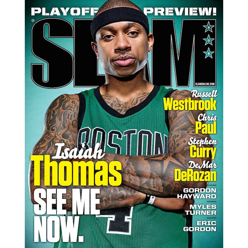 SLAM Magazine - Issue 208 - Isaiah Thomas