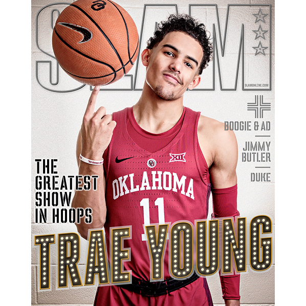 SLAM Magazine - Issue 214 - Trae Young - Cover 2