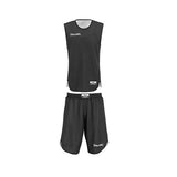 Spalding Double Face Kids Basketball Kit - Black/White