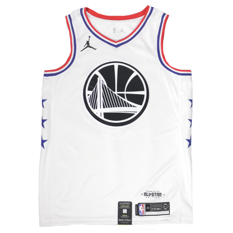Jordan 2019 NBA All-Star Swingman Jersey - Steph Curry - White