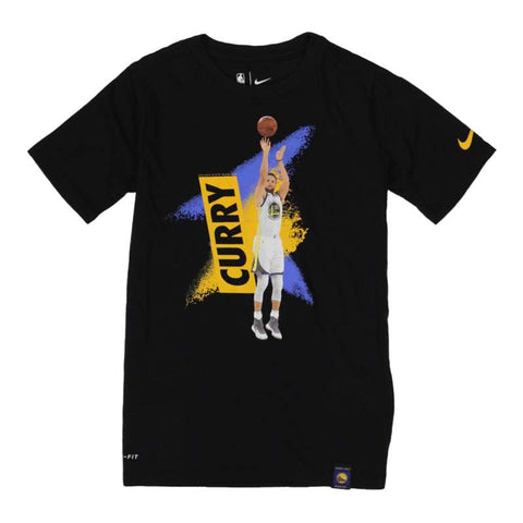 Nike Youth NBA Mezzo Player T-Shirt - Warriors - Steph Curry