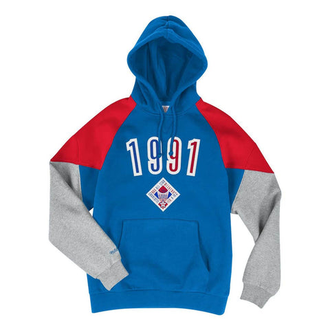 Mitchell & Ness Trading Block Hoodie - 1991 All-Star - Large or X Large