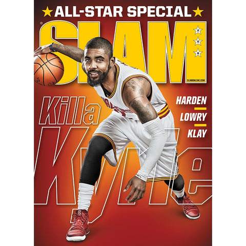 SLAM Magazine - Issue 206 - Kyrie Irving