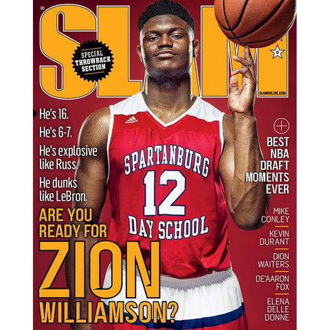 SLAM Magazine - Issue 210 - Zion Williamson