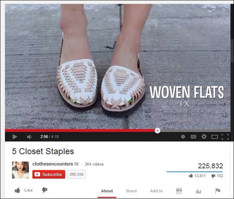 Clothes Encounters YouTube | Ix Style Sandals |