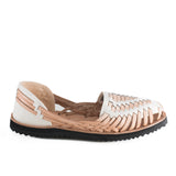 Ix Style Beige Leather Sandals