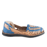 Ix Style Denim Leather Sandal