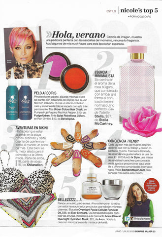 Mujer Article | Ix Style |