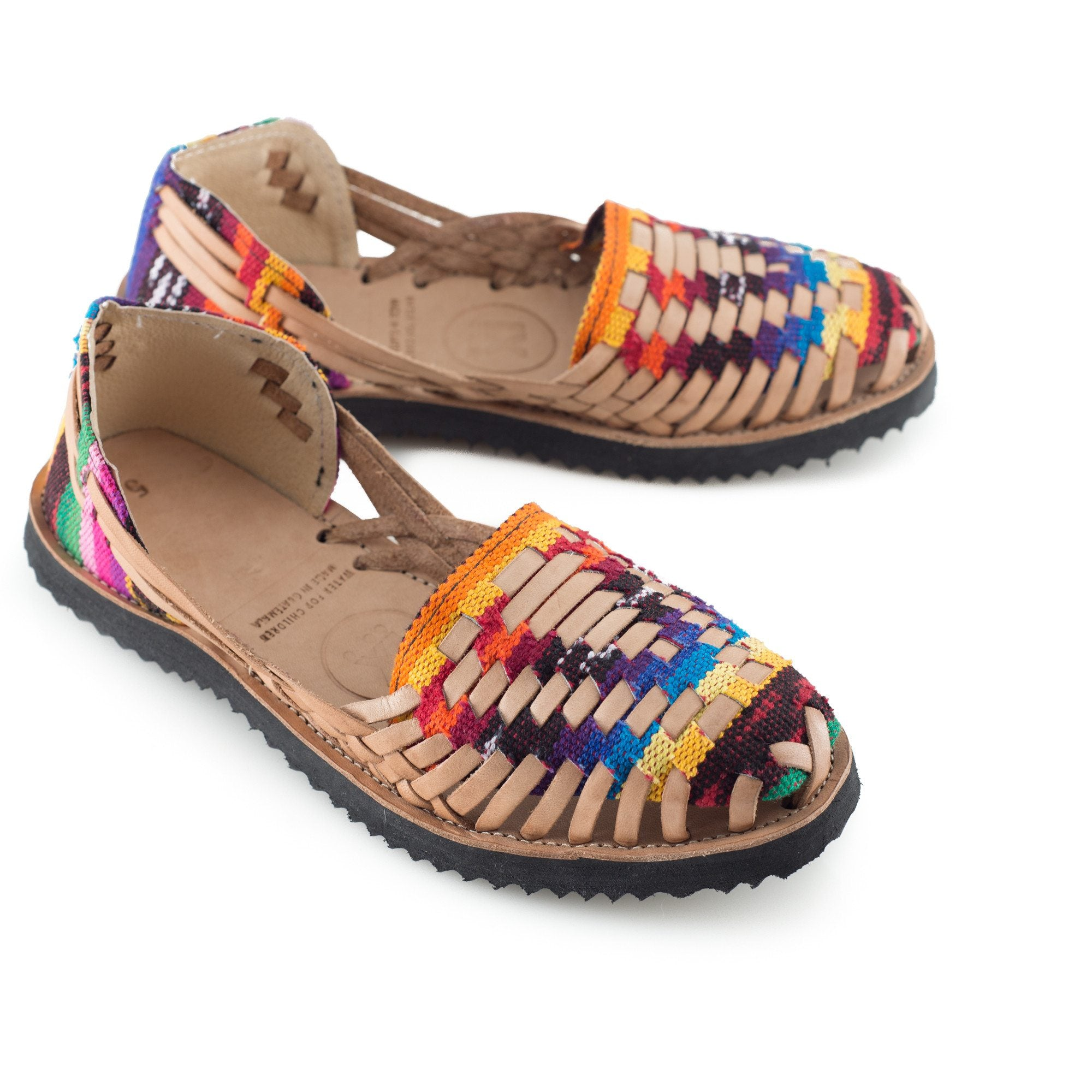195cb76f8910 Women s Traditional Mayan Woven Leather Huarache Sandals - Ix Style - Water  For Children