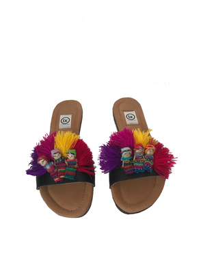 Worry Doll Slip On Sandals