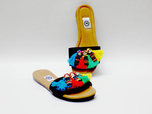 Worry Doll Slip On Sandals - Ix Style - Water For Children