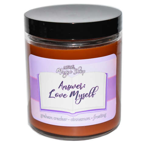 BTS Answer Love Myself Soy Candle Jar