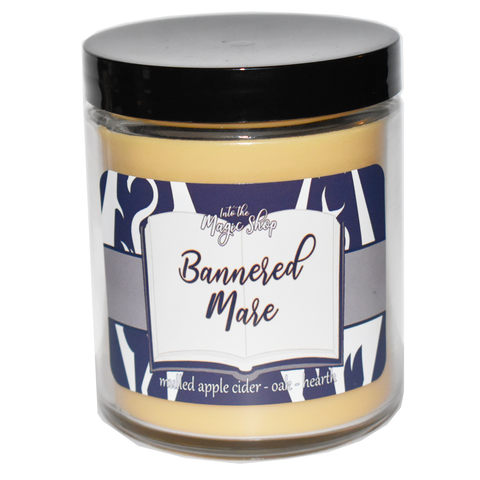 Bannered Mare Soy Candle Jar