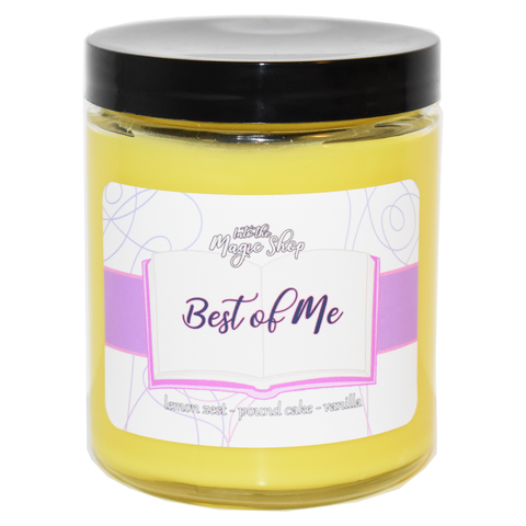 BTS Best of Me Soy Candle Jar