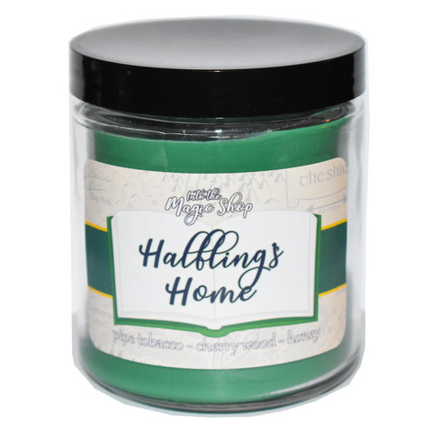 Halfling's Home Soy Candle Jar