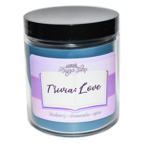 BTS Trivia Love Soy Candle Jar
