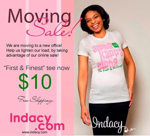 indacy Moving Sale