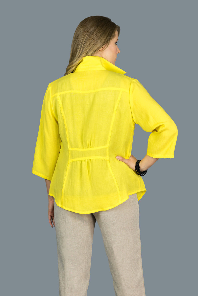 AA207 - Shirt w/ Banded Back
