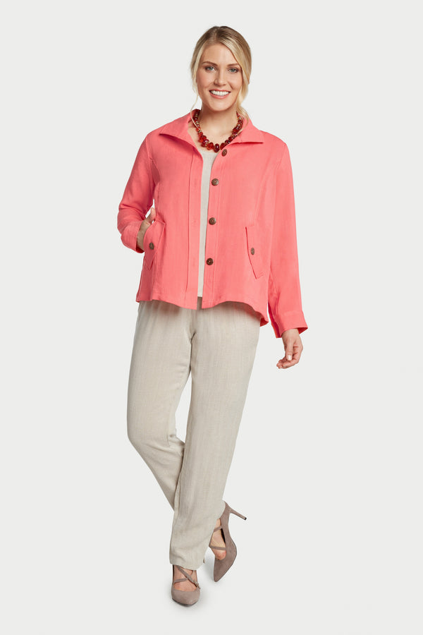 AA242 - Florence False-Flap Pocket Jacket