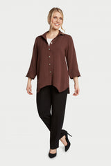 AA261 - Diamond Button-Up Shirt
