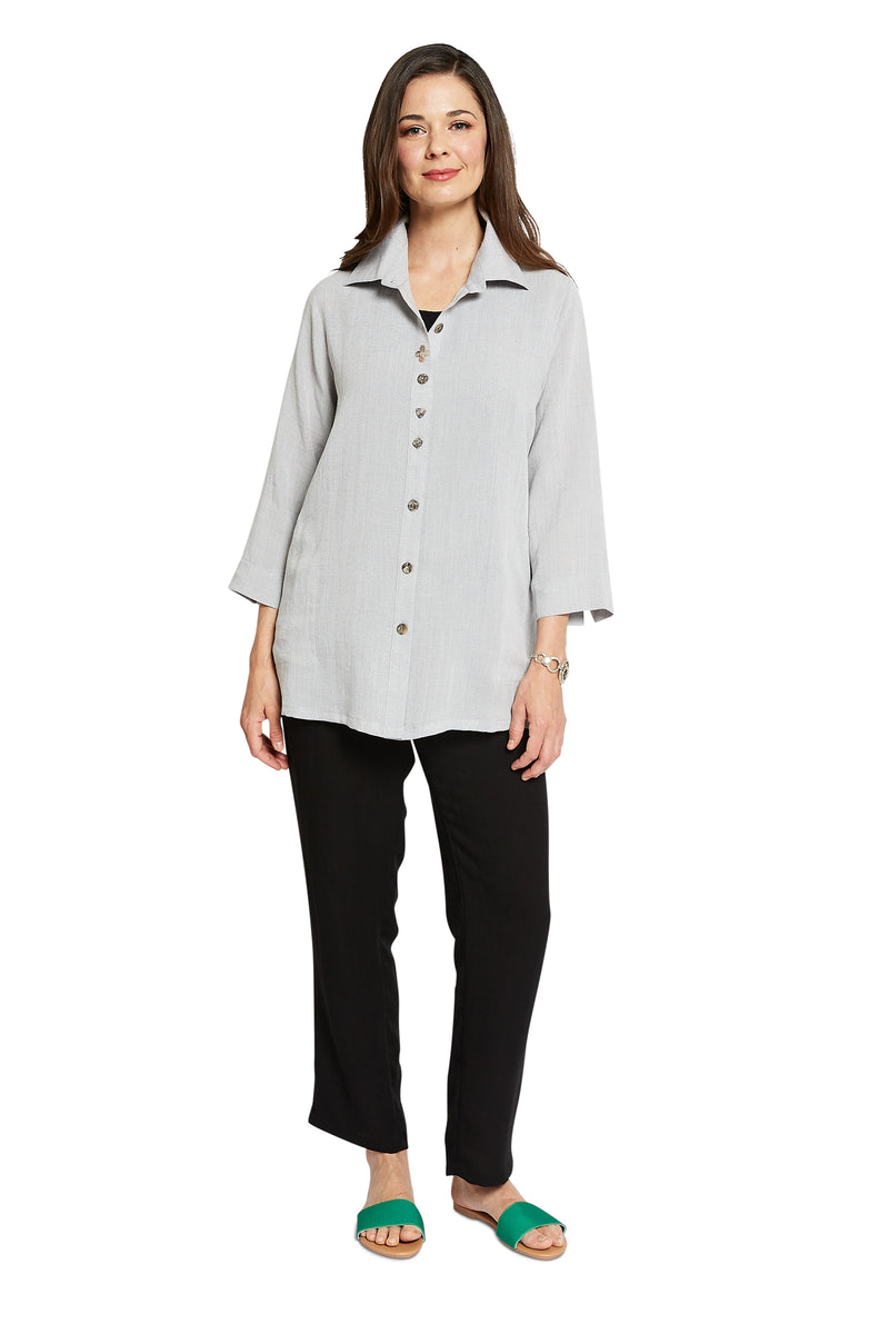 AA268 - Flower Button Shirt