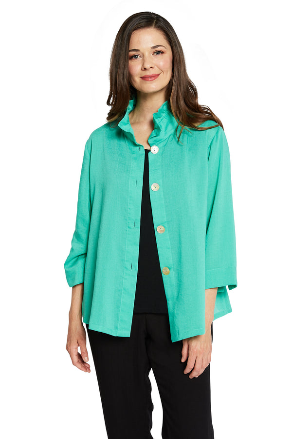 AA311 - Flora Jacket w/ Wire Collar