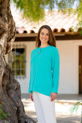 AA96 - Round Button Pullover