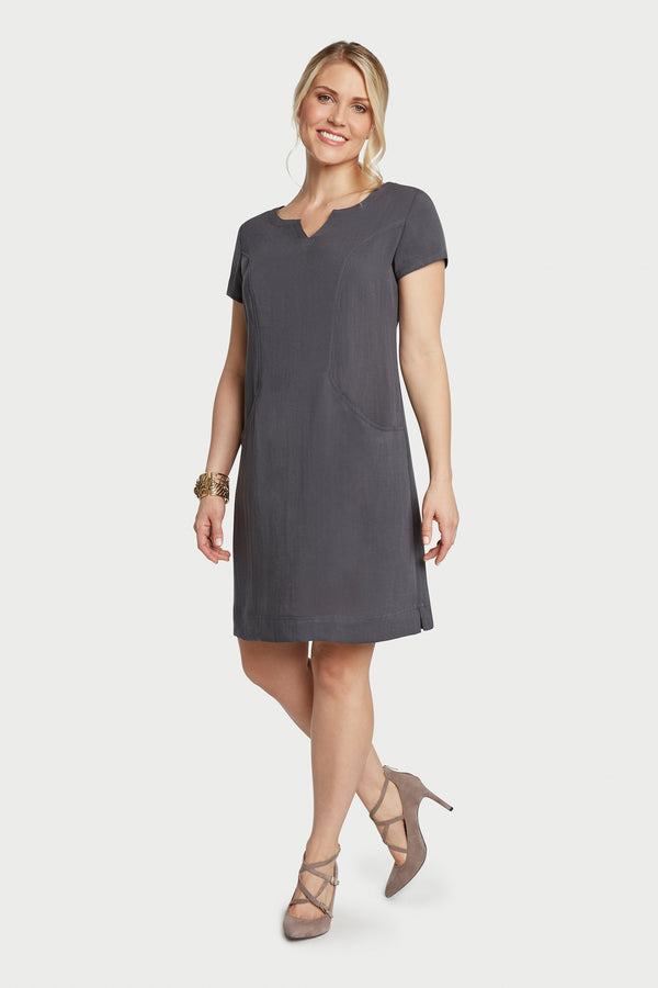 AAD260 - V-Neck Dress