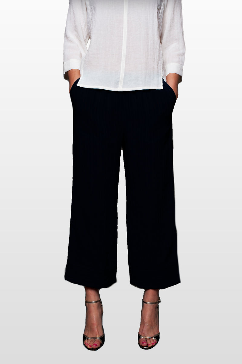 AAPT04 - Crop Pants 2 Pockets w/ Bands