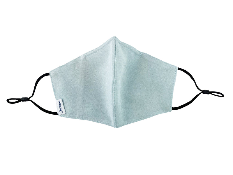 Adults - Fridaze 100% Linen Face Mask (No Filter Included) - Seaglass