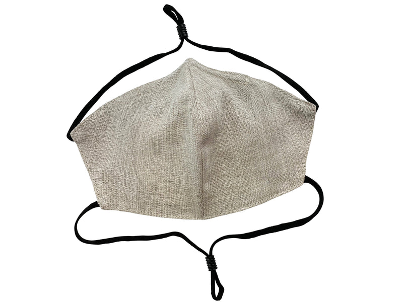 Children - Fridaze 100% Linen All Day School Masks incl. one PM 2.5 Filter - Sand