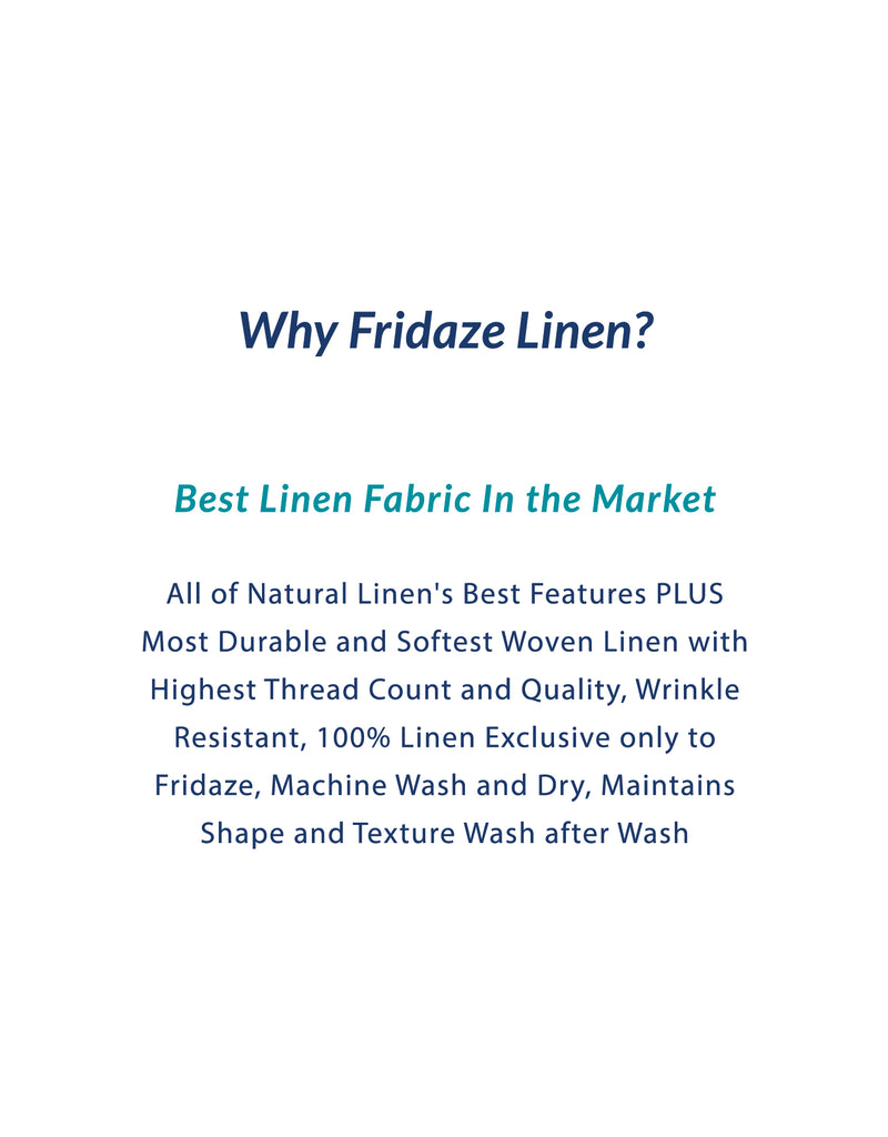 Adults - Fridaze 100% Linen Face Mask (No Filter Included) - Caribbean Waves