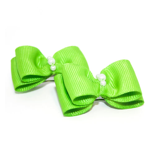 Lime Green Canine Clips