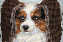 Load image into Gallery viewer, Brown Cocker Spaniel Needlepoint Pillow