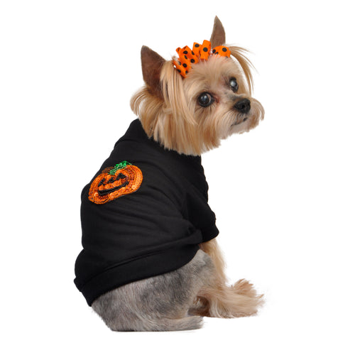 Halloween Black Pumpkin Tee